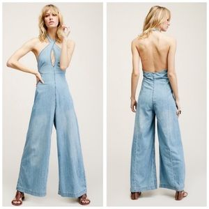 Sexy Free People Denim Jumpsuit Size 2